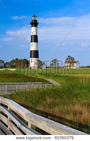 Bodie Island Light And Keeper's House