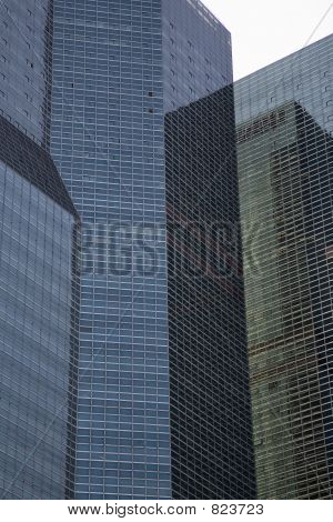 Tall office buildings