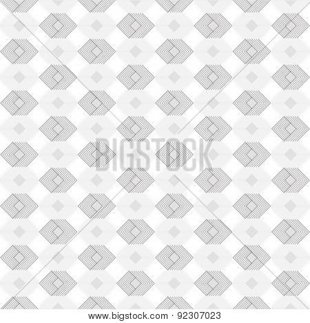 Geometric 3 dimention regular pattern. Vector Illustration.