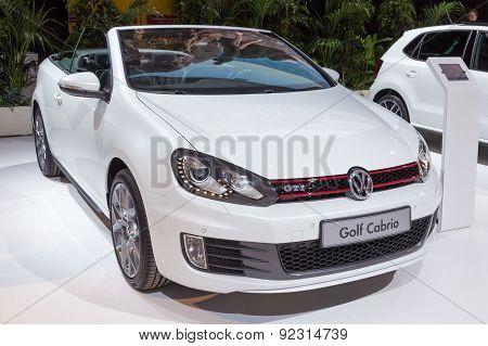 2015 Volkswagen Golf Cabrio Gti