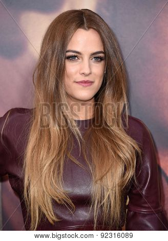 LOS ANGELES - MAY 07:  Riley Keough arrives to the