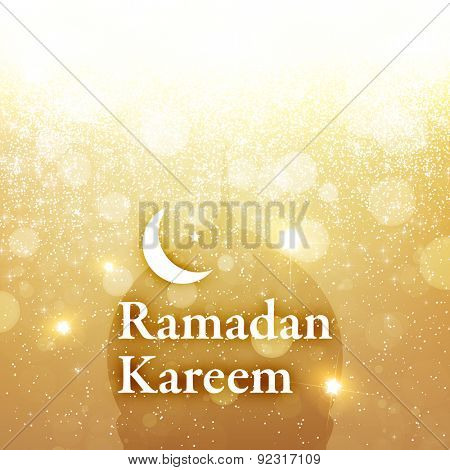 Ramadan Greeting Card Design for Holiday.