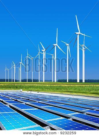 Environmentally Benign Solar Panels