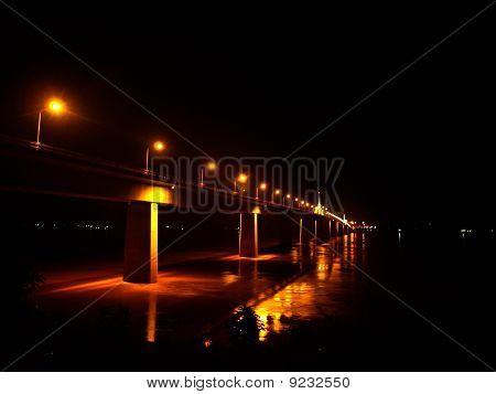 Bridge Across Thailand To Laos