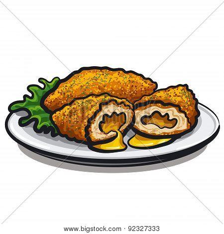 Chicken Kiev Cutlet