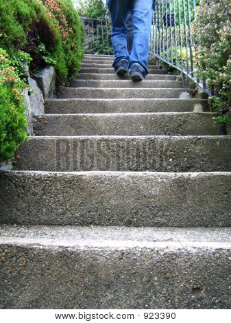 To Go Upstairs