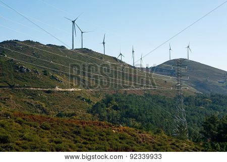 Modern Windmill Energy - Stock Image