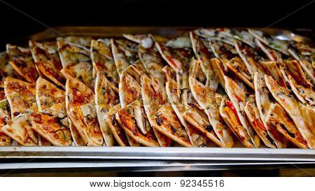 Thai Crispy Pancake Or Kanom Buang Is A Kind Of Traditional Thailand Dessert Represent The Real Thai