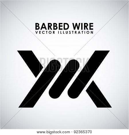 barbed wire design