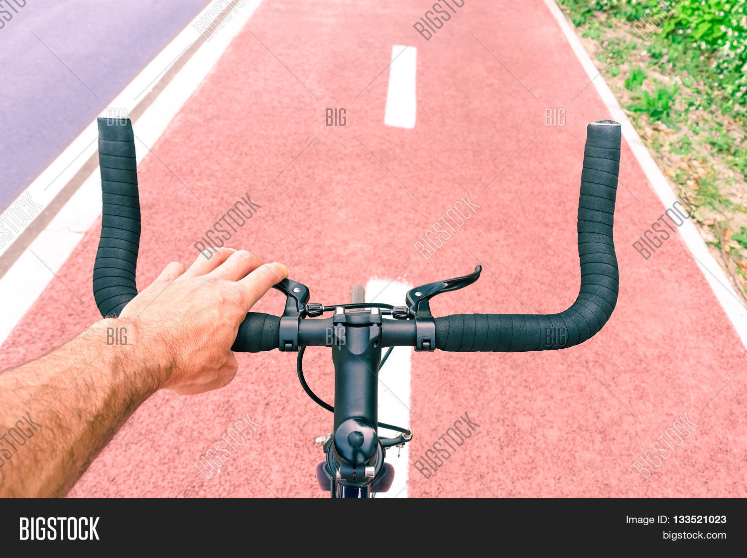 Man Riding Sport Bike Image & Photo (Free Trial) | Bigstock