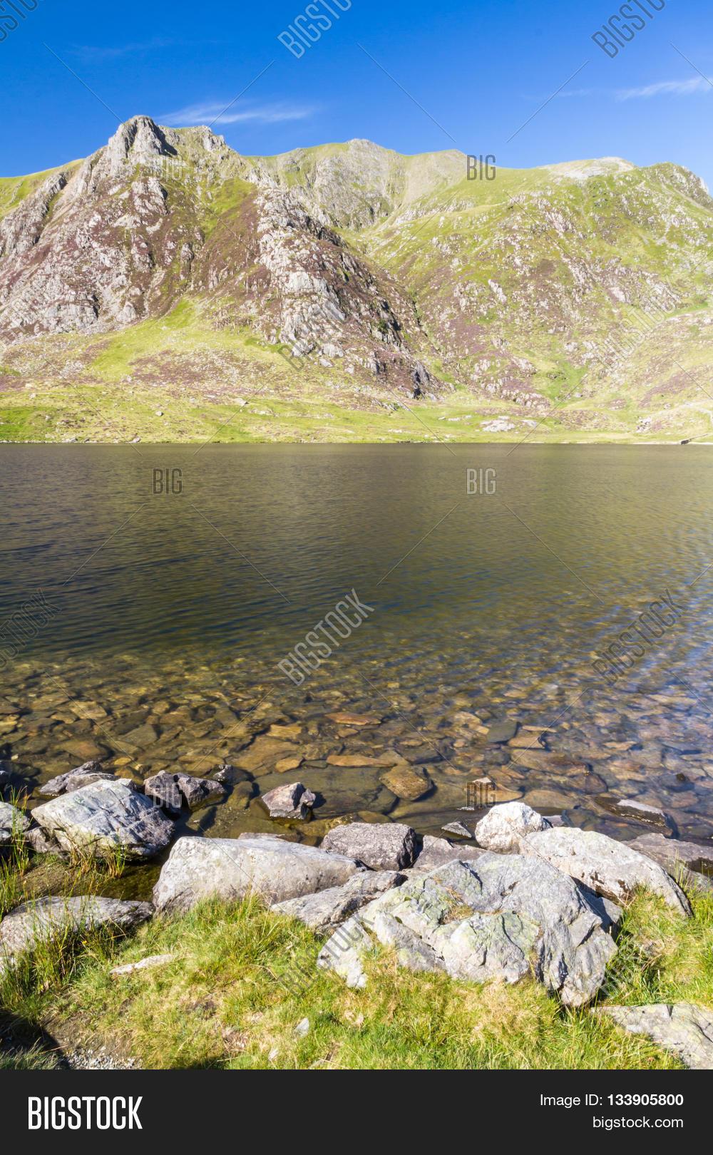 Lake Idwal Devil S Image Photo Free Trial Bigstock