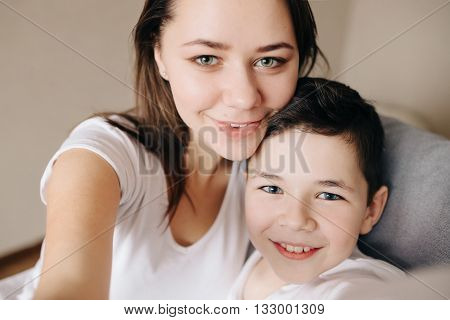 Brother and sister pictures of himself in hause