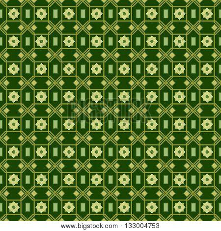 Stars Geometric Seamless Pattern. Fashion Graphic Background Design. Modern Stylish Abstract Texture