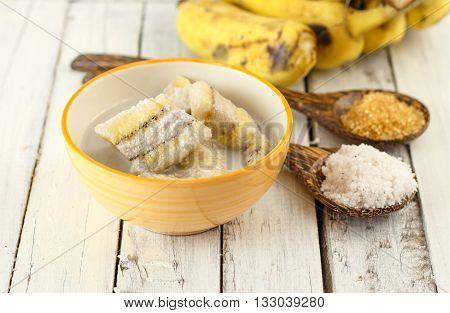 Thai Dessert - Banana In Coconut Milk