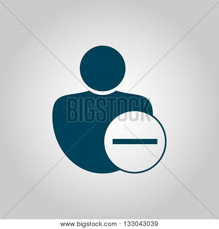 User Remove Icon In Vector Format. Premium Quality User Remove Symbol. Web Graphic User Remove Sign