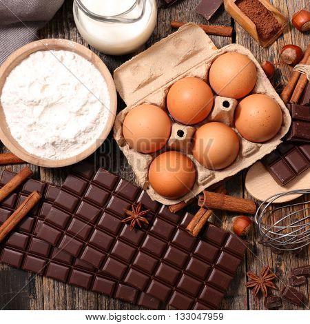 ingredient for baking recipe