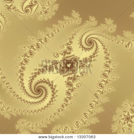 Golden Double Spiral