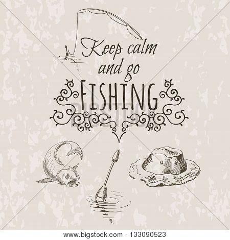 Keep Fishing Sketch