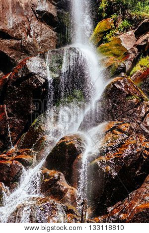Grizzly Falls, Waterfall, Sequoia National Forest, California, Usa