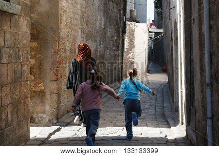Aleppo, Syria. Street View