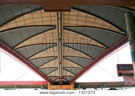Steel Triangular Roof