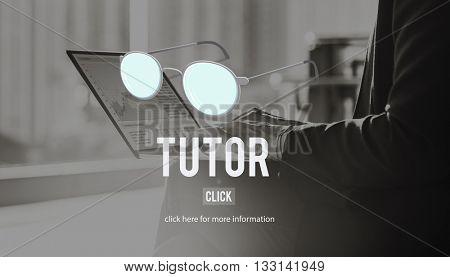 Coaching Guru Guide Teach Coaching Concept