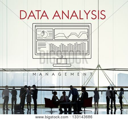 Data Analysis Analytics Business Statistics Concept