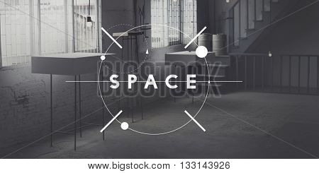 Space Design Decorate Modern Office Private Concept