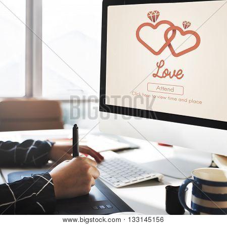 Love Adore Affection Care Emotion Like Loving Concept