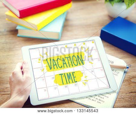Vacation Break Journey Leave Recreation Travel Concept
