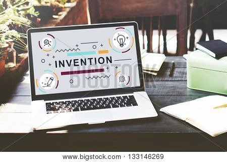 Invention Innovate Create Design Graphic Concept