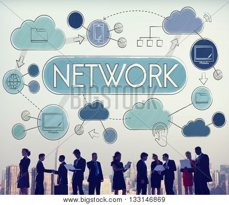 Network Communication Connection Internet Concept