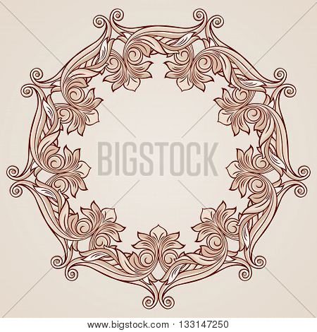 Beautiful floral pattern in pastel rose pink shades