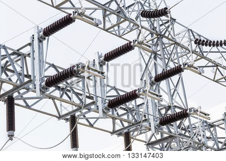 High Voltage Electrical Power Insulators