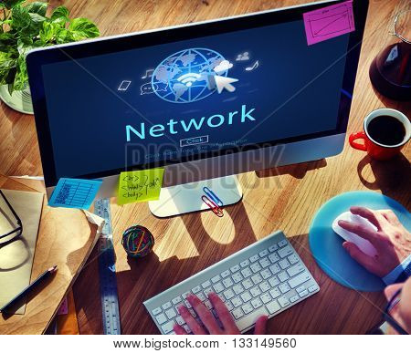 Internet Network www Globalization Connection Concept