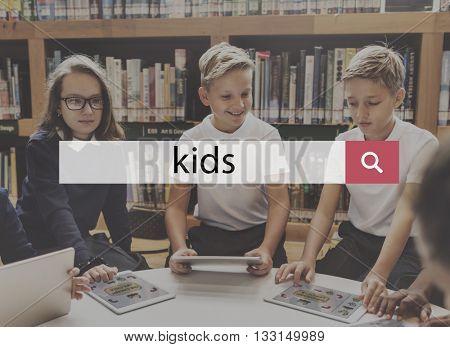Kids Child Children Childhood Offspring Young Concept