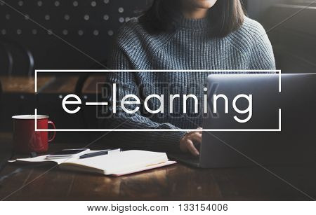 E-Learning Education Media internet Networking Concept