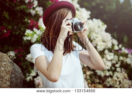 Photograph Camera Casual Chilling Lifestyle Concept