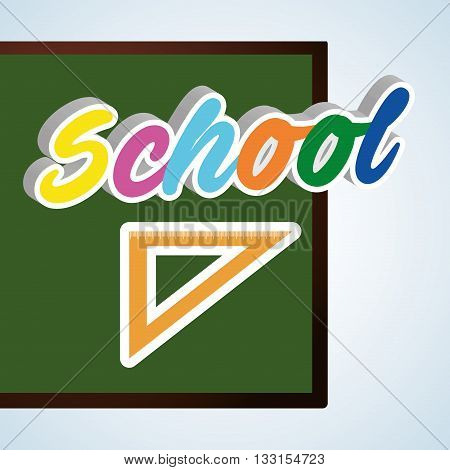 Education concept with icon design, vector illustration 10 eps graphic.