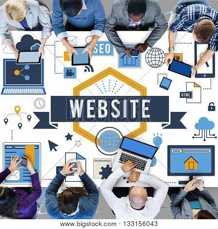 Website Www Connection Internet Online Concept