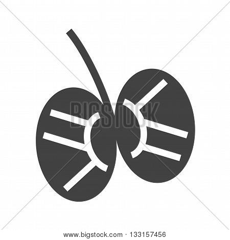 Penis, anatomy, testis icon vector image. Can also be used for human anatomy. Suitable for mobile apps, web apps and print media.