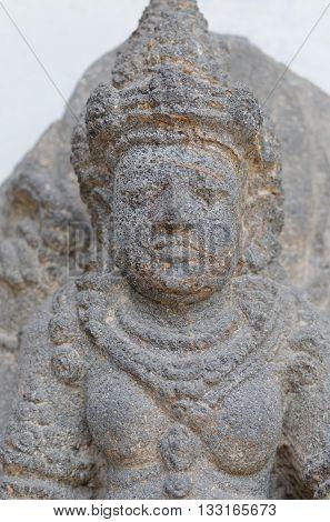 Head of The Dewi Sri Statue 12th - 14th century
