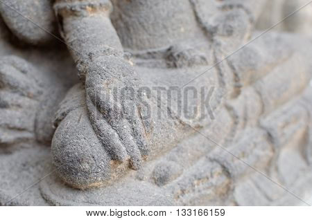 Hands and Feet of The Dewi Sri Statue 12th - 14th century