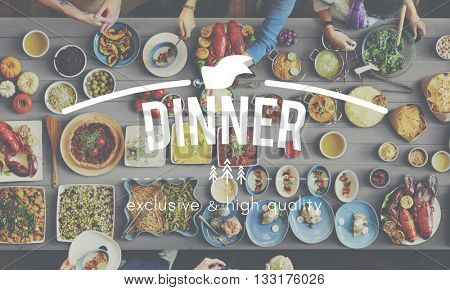 Food Meal Eat Gourmet Dining Concept