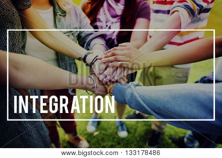 Integration Blend Together Incorporate Concept