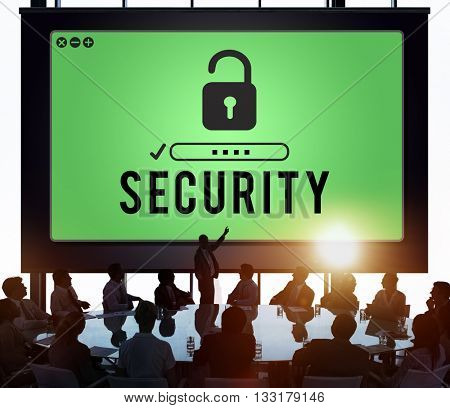 Security Privacy Protection Safety Confidentiality Concept