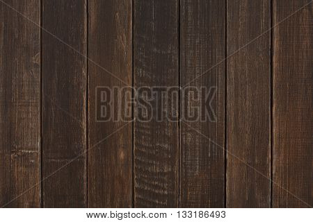 Brown wood texture and background. Brown wood texture background. Rustic, old wooden background. Aged wood planks texture pattern. Wooden surface. Vertical timber planks