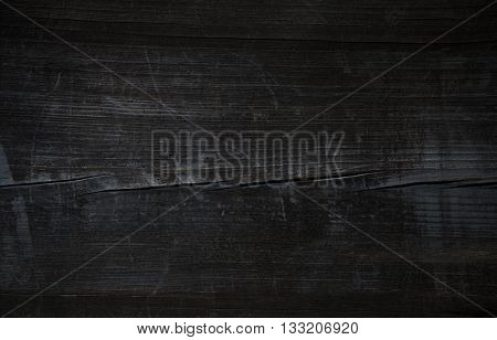 Wood.Old wood. Vintage wood. Old Black wooden table. Pirate black wooden table. Grunge black wood. Black Wood. Wood texture. Wood background. Wood table. Black wooden texture. Black wood background.