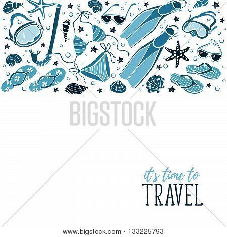 Travel Time Illustration