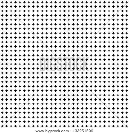 Dot Grid Seamless Pattern. Texture for Wallpaper, Pattern Fills, Web Page Background, Surface Textures. Vector Illustration